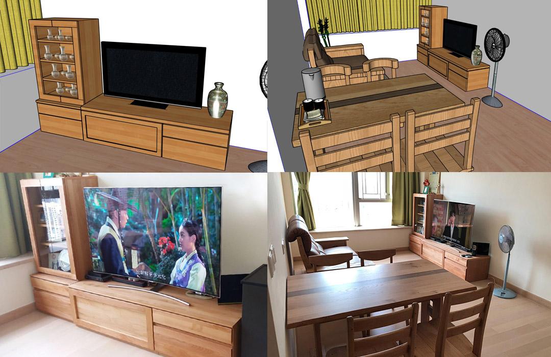 Furniture-arrangement